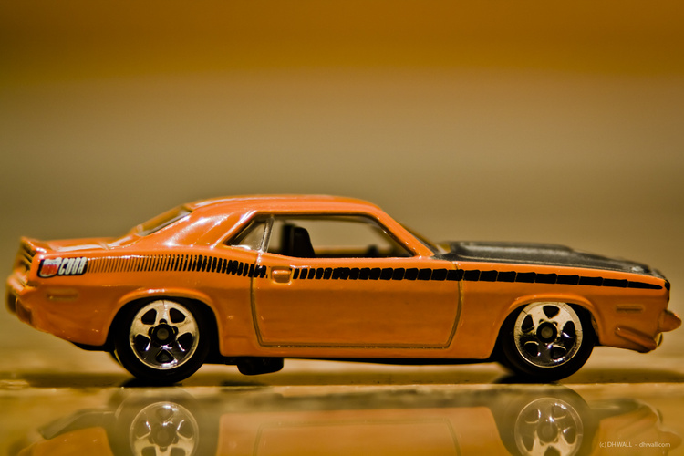 '70 Plymouth Cuda - Matchbox Car