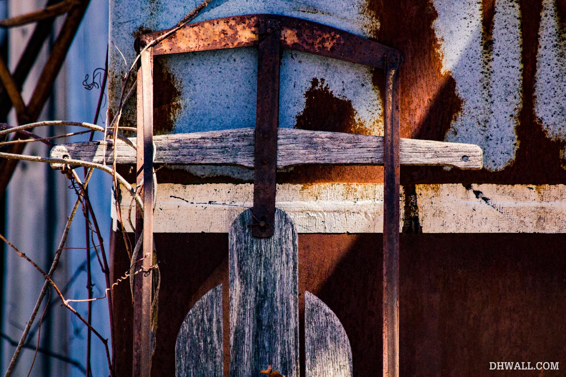 Rusty sled